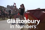 Glastonbury Festival in numbers
