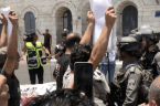 Palestinians Protest in Bethlehem Over US-Led Investment Summit in Bahrain