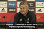 Ole Gunnar Solskjaer praises Mason Greenwood after first Manchester United goal