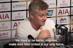 Solskjaer: Next season will be a closer between top six
