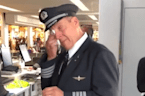 'Sound On, Tissues Out': Wisconsin Choir Serenades Tearful Pilot After Retirement Flight
