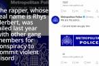Met Police Twitter account hacked