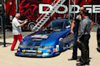 Dodge Charger SRT Hellcat Widebody Funny Car Press Conference