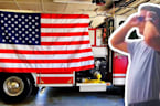 Colorblind Firefighter Cries Seeing American Flag in Color