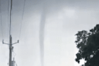 Waterspout Spotted in Bay St Louis, Mississippi, Amid Storm Warnings