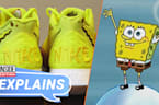 Kyrie's SpongeBob Nikes Are Straight Out of Bikini Bottom