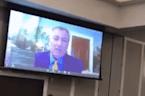 Bill de Blasio Delivers Video Message To Iowa Labor Forum In 'Helium' Voice
