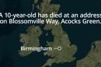 10-Year-Old Boy Found Dead In Birmingham