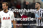 Tottenham v Newcastle: Premier League match preview
