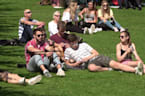 Scots bask in 29C sizzler as record-breaking heatwave engulfs UK