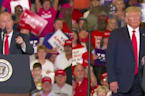 Trump goes all out to rally for NC candidate