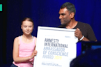 Greta Thunberg Receives Amnesty International Award For Climate Activism