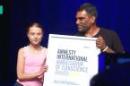 Greta Thunberg Receives Amnesty International Award For Climate Activism