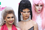 RuPaul's UK Drag Queens Walk The Pink Carpet