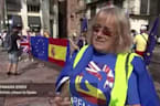 Britons march in southern Spain ahead of Brexit
