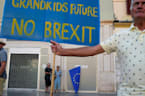 'The UK has forgotten us': Britons hold anti-Brexit protest in Malaga