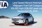 Hyundai NEXO Fuel Cell Land Speed Record Attempt
