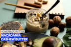 Learn how to make your own delicious macadamia & cashew butter