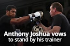 Joshua backs McCracken to help him beat Ruiz