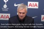 Jose Mourinho dubs Son Heung-min 'Sonaldo'