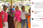 Cardi B brings Christmas to Lagos orphanage