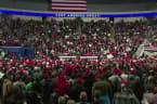 Trump blasts 'impeachment-light' at campaign rally
