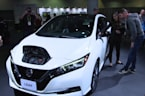 Nissan Leaf e+ On Display at CES 2019 Las Vegas