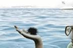 Optische Täuschung im Badeurlaub: Was passiert wirklich auf dem Foto?