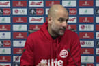 Pep Guardiola: Fulham's red card helped us out