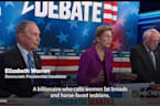 Elizabeth Warren Hits Michael Bloomberg Hard In Democratic Debate