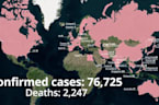 Coronavirus: The confirmed cases around the world