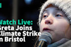 WATCH LIVE: Greta Thunberg Takes Part In Climate Protest In Bristol