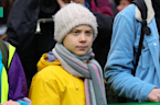 Bristol Braves The Rain To March With Greta Thunberg