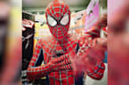 Stockport Spider-Men keep kids entertained during lockdown