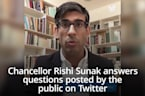 Chancellor Rishi Sunak answers questions on Twitter about Treasury's coronavirus response