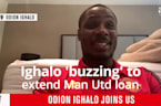 Odion Ighalo 'buzzing' for season to resume after extending Man United loan
