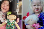 Woman makes dolls for kids who don't see themselves in the toy store