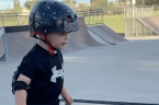 This 2-year-old is a skateboarding pro