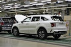 Start of production for new Kia Sorento Hybrid