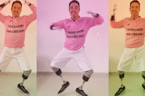 Man who lost limbs after electric accident now inspires others with his dance moves