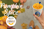 Kraft reveals new pumpkin spice mac n' cheese