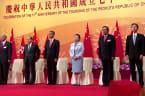 Hong Kong leader slams 'brutal' foreign sanctions