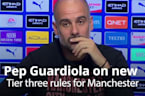 Pep Guardiola on new Tier 3 rules for Manchester
