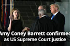 Amy Coney Barrett confirmed as US Supreme Court justice