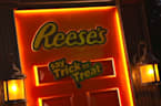 Reese's robotic door brings trick or treating to you