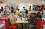 'Saved by the Bell' First Look: The New Bayside High Class Hangs Out at The Max