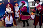 Dutch children meet St. Nicholas via drive-in