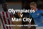 Champions League match prevew: Man City v Atalanta