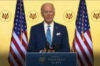 Joe Biden calls for unity in Thanksgiving address
