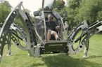 Engineer builds massive Star Wars-inspired spider robot